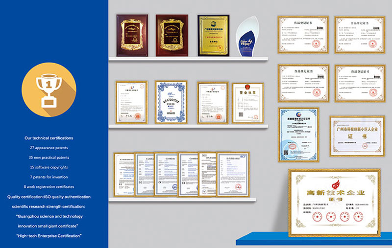 Our technical certifications